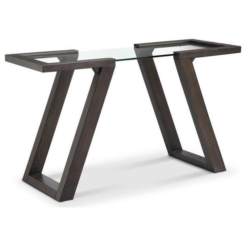 Contemporary Rectangular Sofa Table