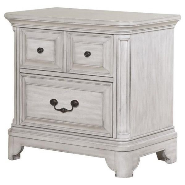 Traditional Drawer Nightstand