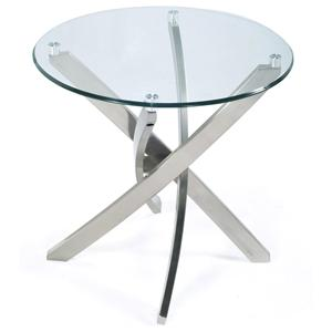 Magnussen Home Zila Round End Table