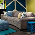 Custom Built Conversation Sofa