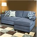 2 Pc Custom Built Sectional Sofa