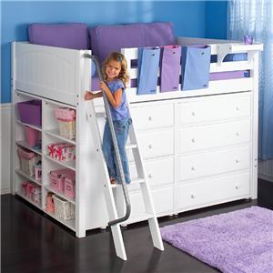 Maxtrix Kong Full Size Loft Bed