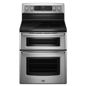 "Maytag Electric Range 30"" Freestanding Electric Double Oven Range"