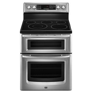 Maytag Electric Range 6.7 cu. ft. Capacity Double Oven Electric Ra