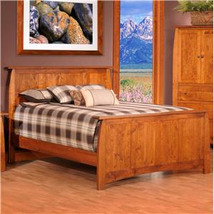 Millcraft Bordeaux King Panel Bed