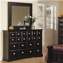 Najarian Palazzo Dresser Mirror - Shown with dresser