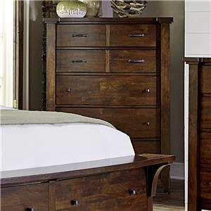 Warehouse M Whistler Retreat 5 Drawer Chest