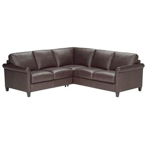 Natuzzi Editions B580 2 Piece Sectional