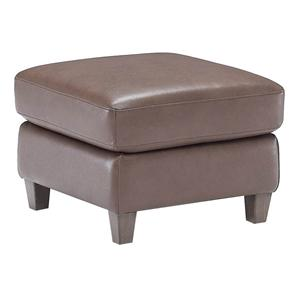Natuzzi Editions B592 Contemporary Ottoman