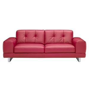 Natuzzi Editions B636 Leather Stationary Sofa