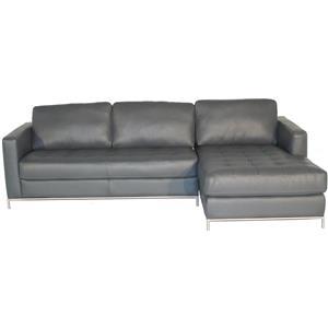 Natuzzi Editions B805 RAF Sofa Chaise