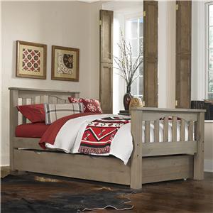 NE Kids Highlands Twin Harper Bed with Trundle