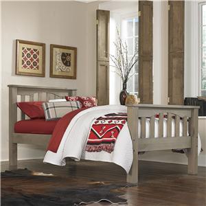 NE Kids Highlands Twin Harper Bed