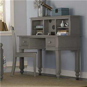NE Kids Lake House Writing Desk + Desk Hutch + Chair