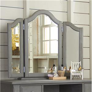 NE Kids Lake House Vanity Jewelry Mirror