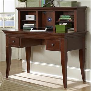 NE Kids Walnut Street Desk with Hutch