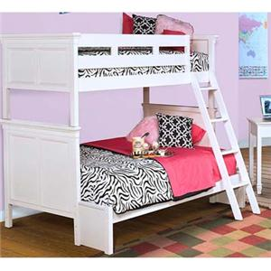 New Classic Tamarack Twin over Full Bunk Bed