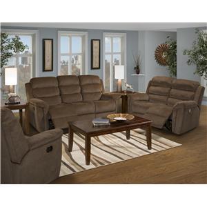 New Classic Charlotte Reclining Sofa