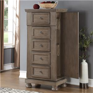 New Classic Allegra Swivel Chest