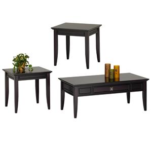New Classic Franklin Park 3 Pack Occasional Tables