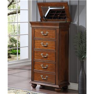 New Classic Burbank Lift-Top Lingerie Chest