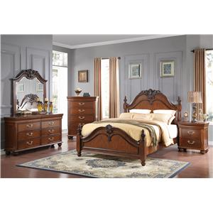 New Classic Burbank Queen Bedroom Group