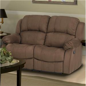 New Classic Kelsey Casual Dual Power Reclining Love Seat