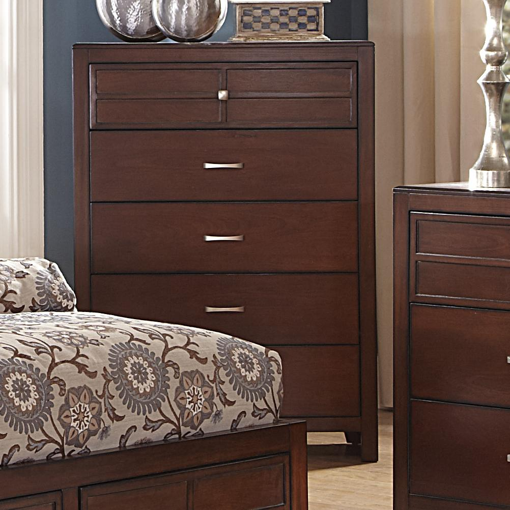 Five-Drawer Bedroom Chest By New Classic