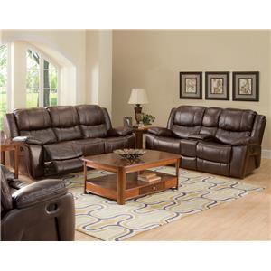 New Classic 20-245 Power Reclining Sofa