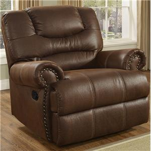 New Classic Laredo Traditional Power Glider Recliner