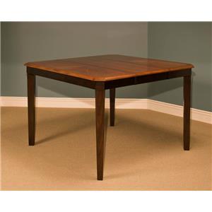 New Classic Latitudes Cut Corner Counter Table