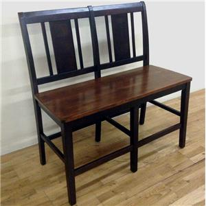 New Classic Latitudes Vertical Back Counter Bench