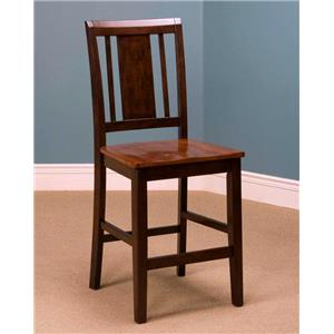 New Classic Latitudes Vertical Back Counter Chair