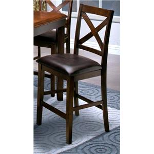 New Classic Latitudes X-Back Counter Chair