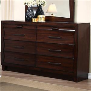 New Classic Lazaro Dresser with 8 Drawers