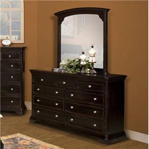 New Classic Maryhill Dresser & Mirror