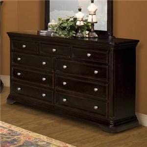 New Classic Maryhill 9 Drawer Dresser
