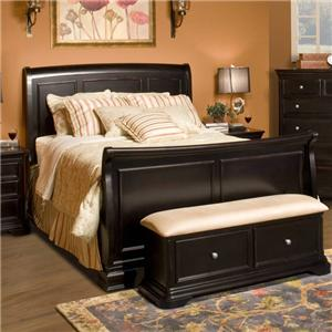 New Classic Maryhill Queen Sleigh Bed