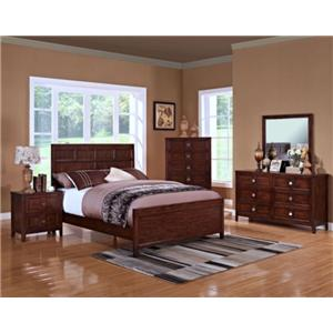 New Classic Ridgecrest 00-131 Queen Bed