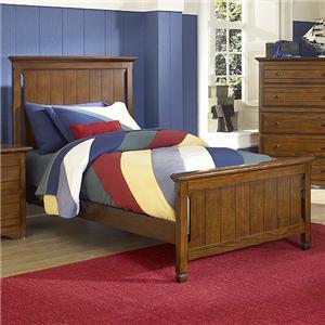New Classic Sawmill Full Panel Bed