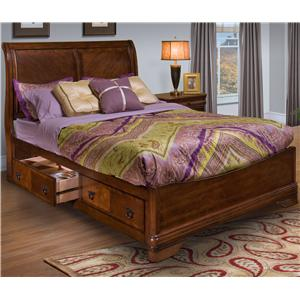 New Classic Sheridan Queen Bed with Storage