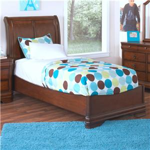 New Classic Sheridan Twin Youth Panel Bed