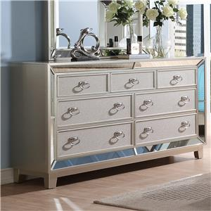 New Classic Stefano Dresser with 7 Drawers