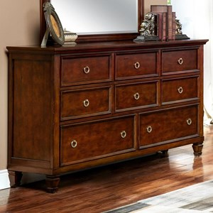 Eight-Drawer Dresser