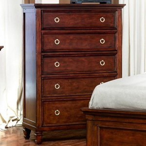 Five-Drawer Dressing Chest