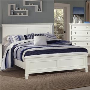New Classic Tamarack Queen Panel Bed