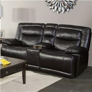 New Classic Torino Casual Dual Recliner Console Loveseat