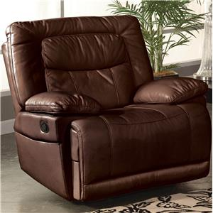 New Classic Torino Casual Power Motion Glider Recliner