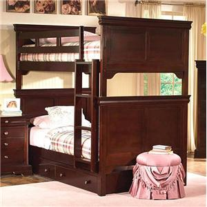 New Classic Versailles  Twin over Twin Bunk Bed
