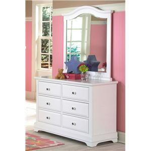 New Classic Bayfront Dresser and Mirror